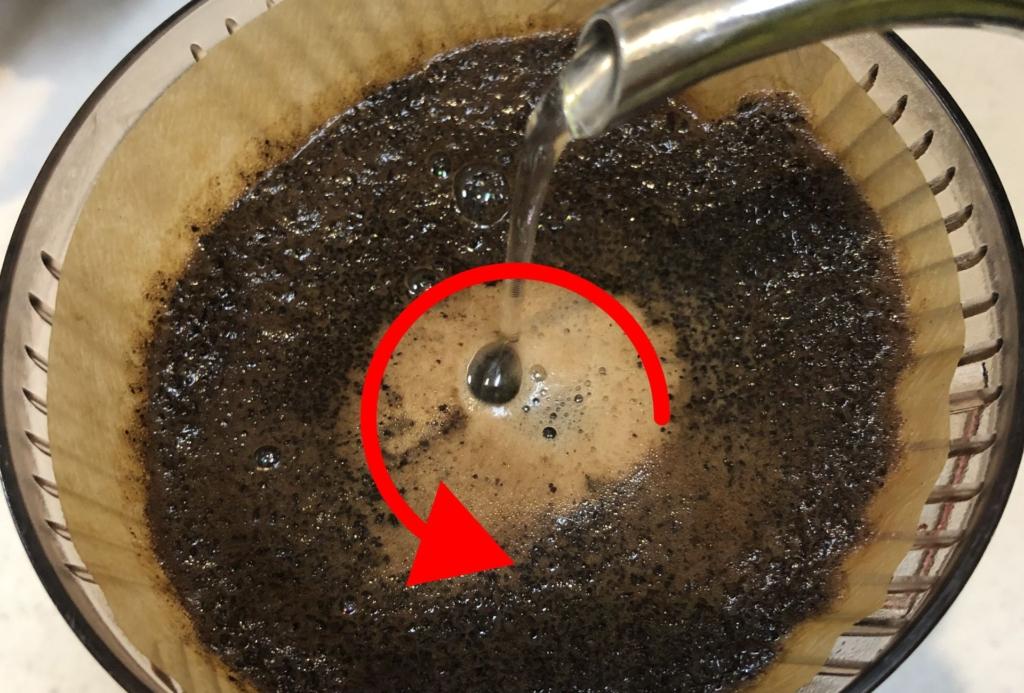 コーヒードリップ方法