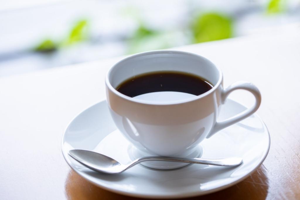 ティータイムでコーヒー