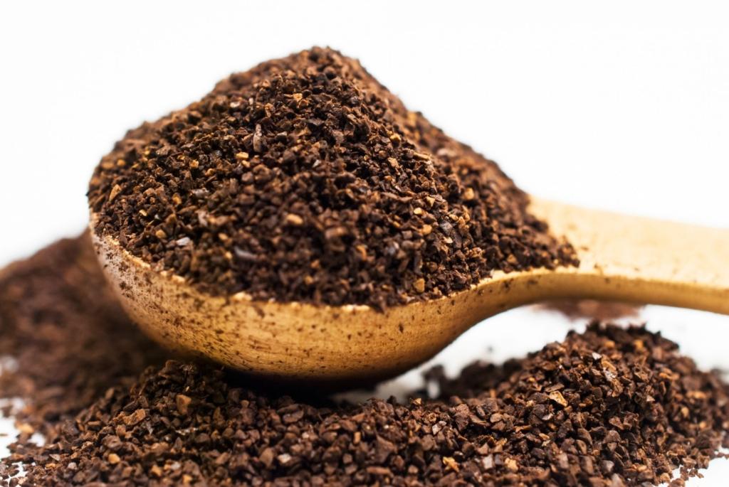 コーヒーかすの消臭効果