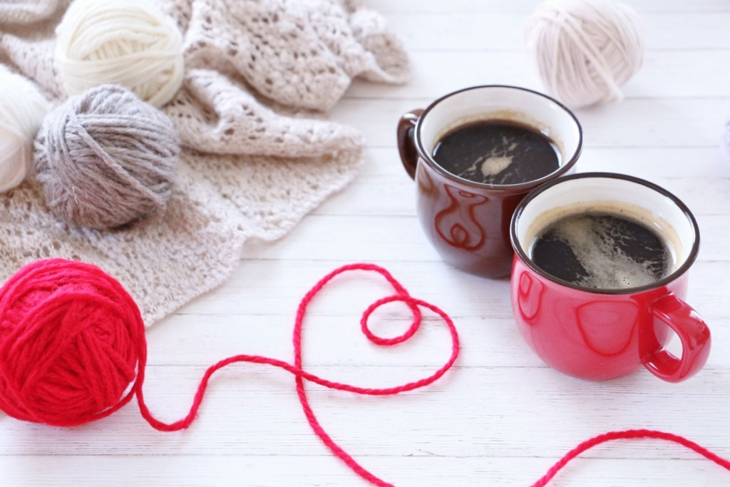 ほっとするコーヒータイム