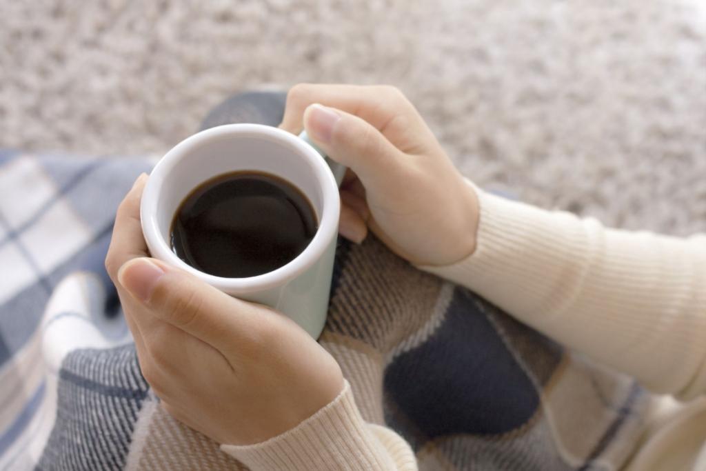 コーヒーを飲んで落ち着く時間