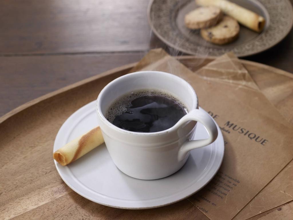 するっとカフェでホットコーヒー