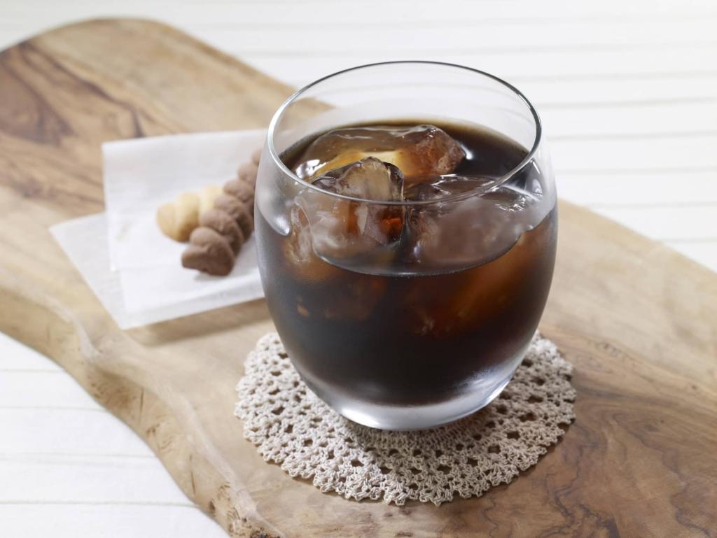 するっとカフェでアイスコーヒー